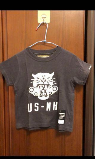 近年搶手軍事潮牌,也是六叔愛用品牌。潮人元祖品牌 NEIGHBORHOOD兒童100公分(二手)