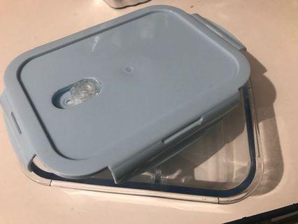 耐熱玻璃保鮮盒3格