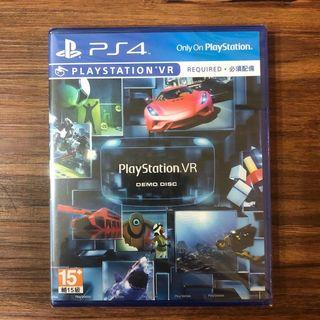 全新未拆封  SONY PS4遊戲光碟 PlayStation VR Demo Disc