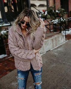Vici dolls chunky knit cable cardigan