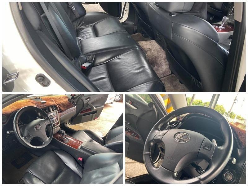 2008 凌志/LEXUS IS250 SPORT版、一手車、小改款、黑內裝、全原廠保養、0989-884-500 阿榮