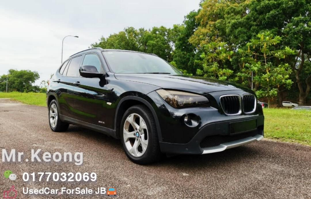 2011TH🚘BMW X1 2.0AT ssDrive18i PETROL 10XXXXKM Only 🎉TipTop Condition/LEATHERSEAT Cash🎉OfferPrice Rm48,800 Only👍Interested Call📲Keong 0177032069🤗