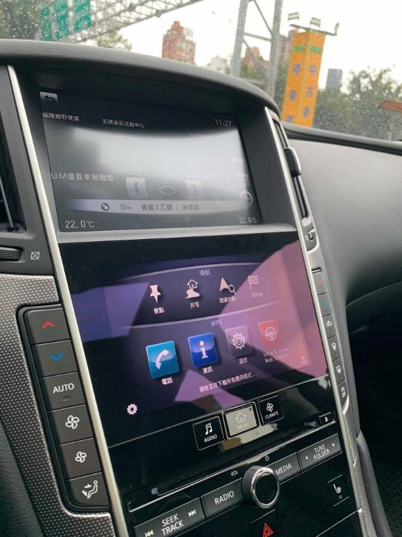 2014 Q50 頂級旗艦版 一手車 實跑2萬 原廠保養紀錄可查