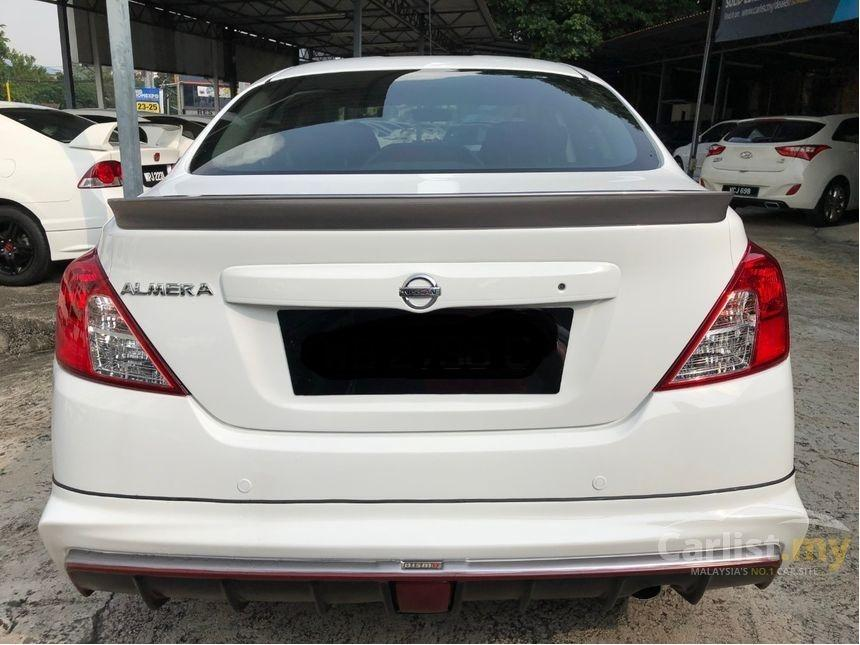 2015 Nissan Almera 1.5 VL (A) Facelift One Owner Nismo Bodykit Leather Seat Full Nissan Service