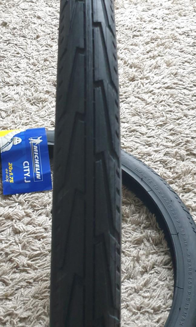 ♻️ Michelin 20 inch size tyre for foldable bicycle