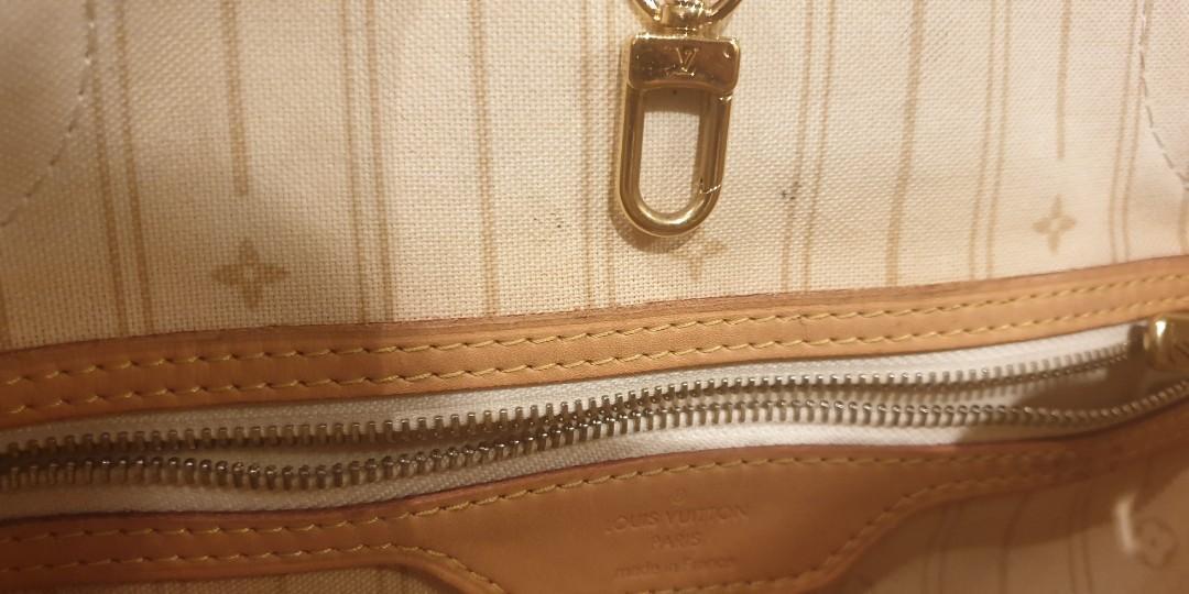 FIRM AUTHENTIC louis Vuitton LV damier azur Neverfull GM