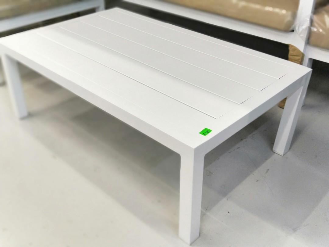 BALMORAL Outdoor 4 Seater Sofa Set in WHITE