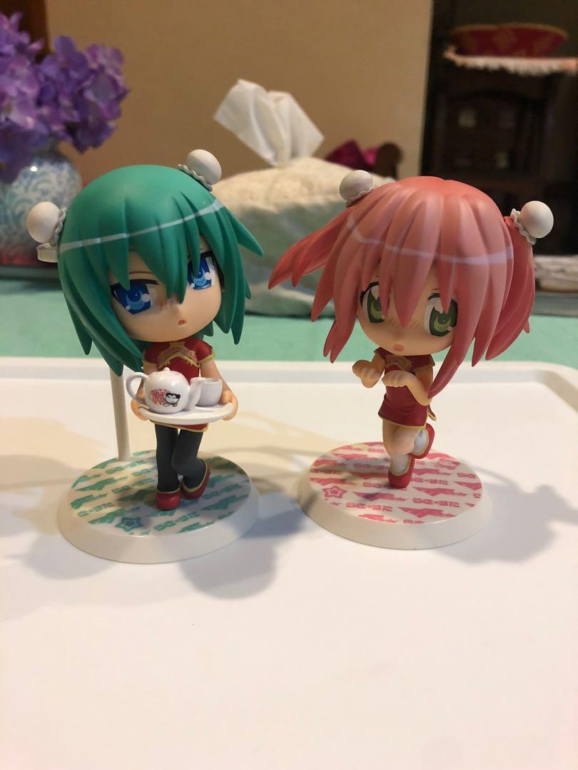 Banpresto Macross Frontier x Lucky Star Prize G Figurines Minami Yutaka #PJ