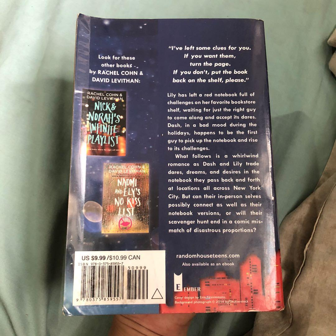 Repriced !! Dash and Lily's Book of Dares book by Rachel Cohn and David Levithan