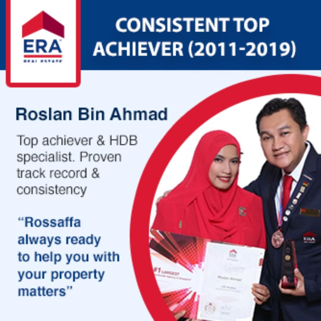 ERA Consistent Top Achieving Agent, I can help you with you