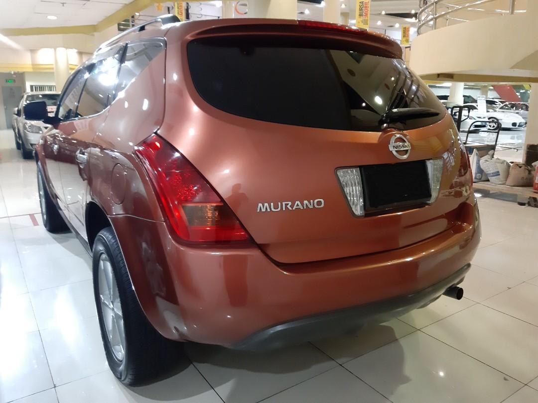 for SALE tahun.2005 Nissan MURANO 2.5L Automatic.SUNROOF.NOPOL L-Surabaya(GENAP).Pajak Telat.Kaleng Stnk 2023.DiJUAL NEGO Seada adanya