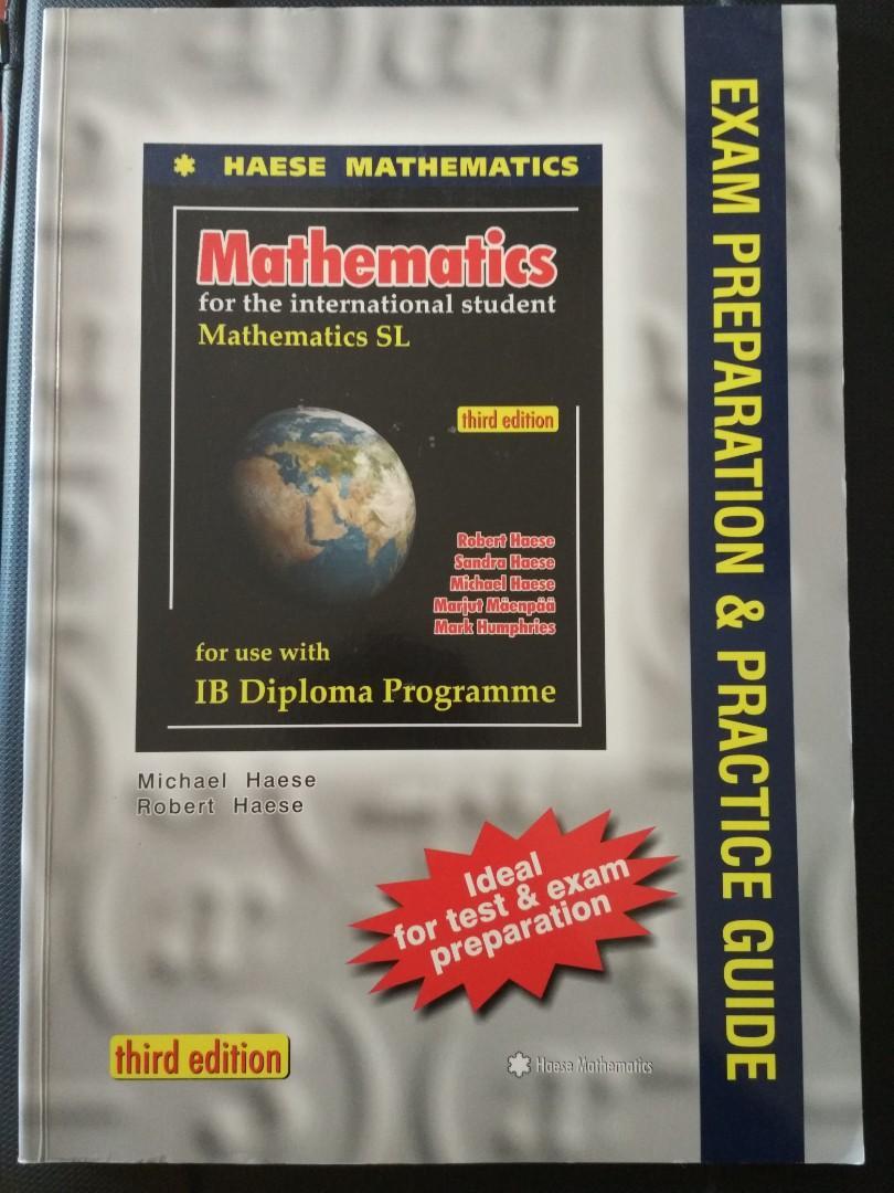 Haese Mathematics SL - Exam Preparation & Practice Guide