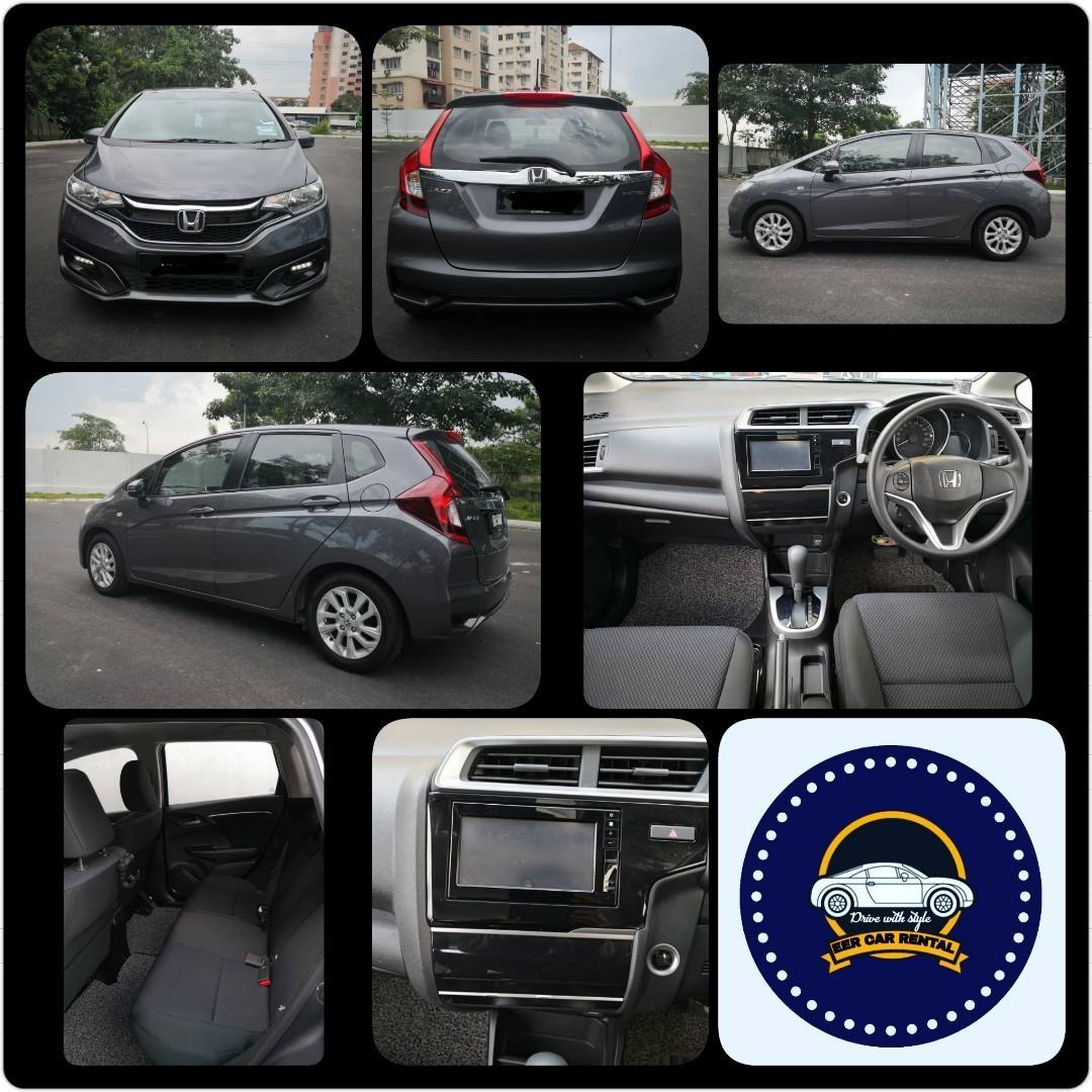 Honda Jazz 1.5 E (A) Kereta Sewa Murah Selangor KL
