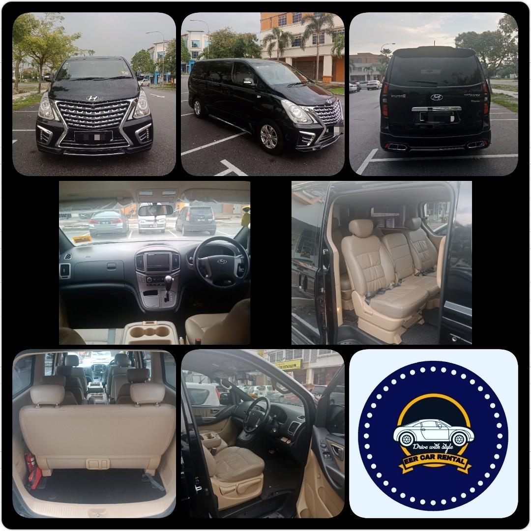 Hyundai Grand Starex Royale Robot 2.5 (A) MPV Car Rental Selangor KL