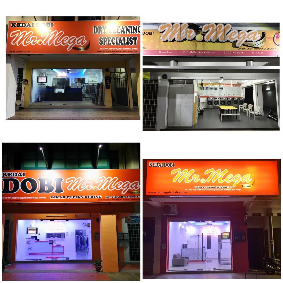 Kerja Kosong Dobi Petaling Jaya & Shah Alam (Ada Hostel)