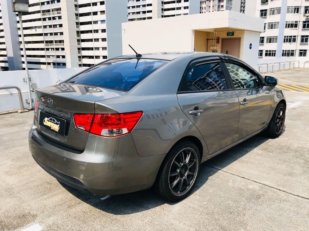 Kia Cerato Forte 1.6A Ex New 5year Coe  Auto