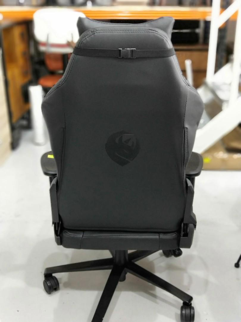 KX REBEL Professional Gaming Chair in BLACK