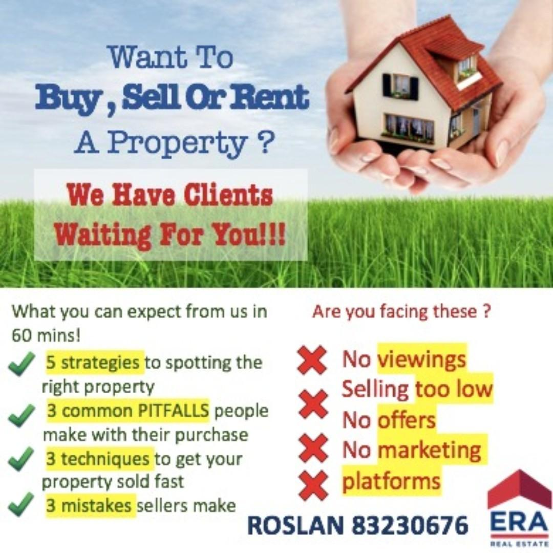 Looking to Buy, Sell or Rent?