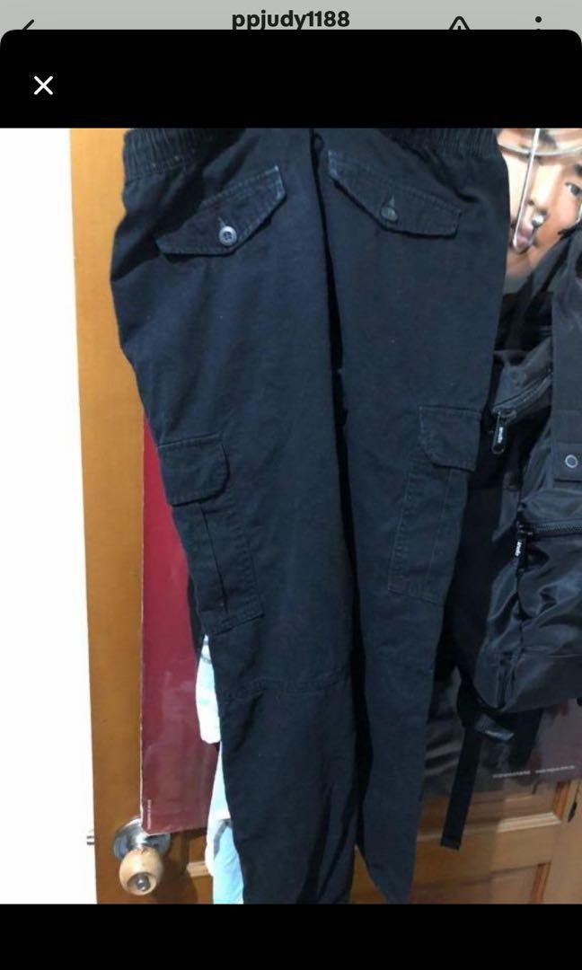New balance 帽t +牛仔褲+束口褲
