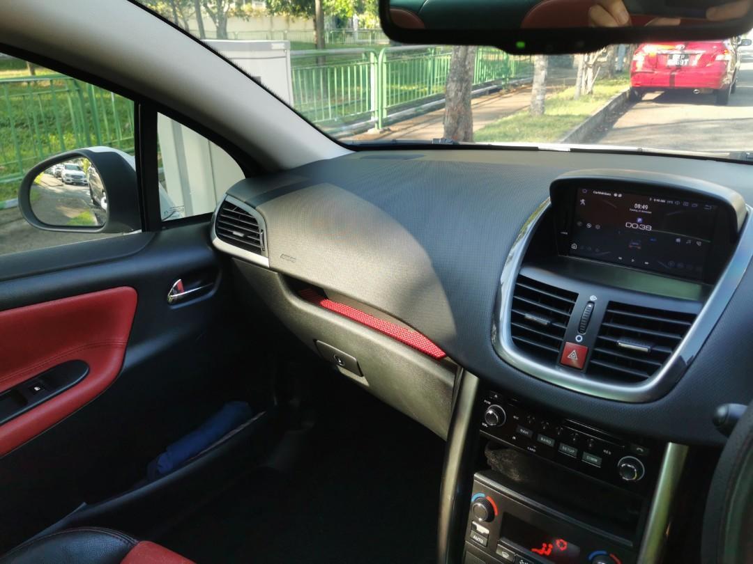 Peugeot 207 1.6A sport coupe convertible cabriolet (ext) Auto