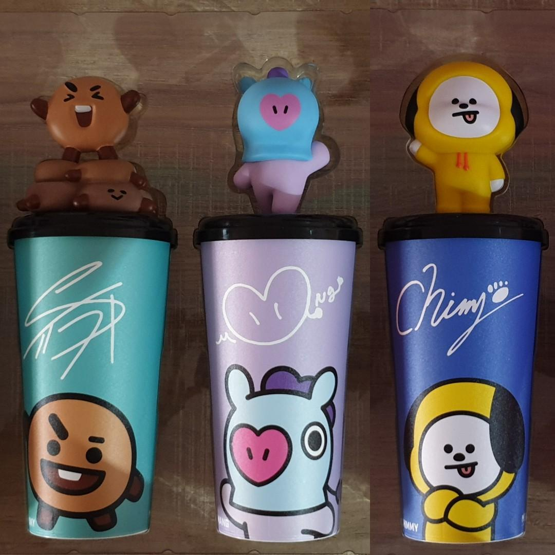 [PREORDER] MBO Malaysia x BT21 Limited Edition Topper Cup Shopping Service > 6th Batch Coming Soon