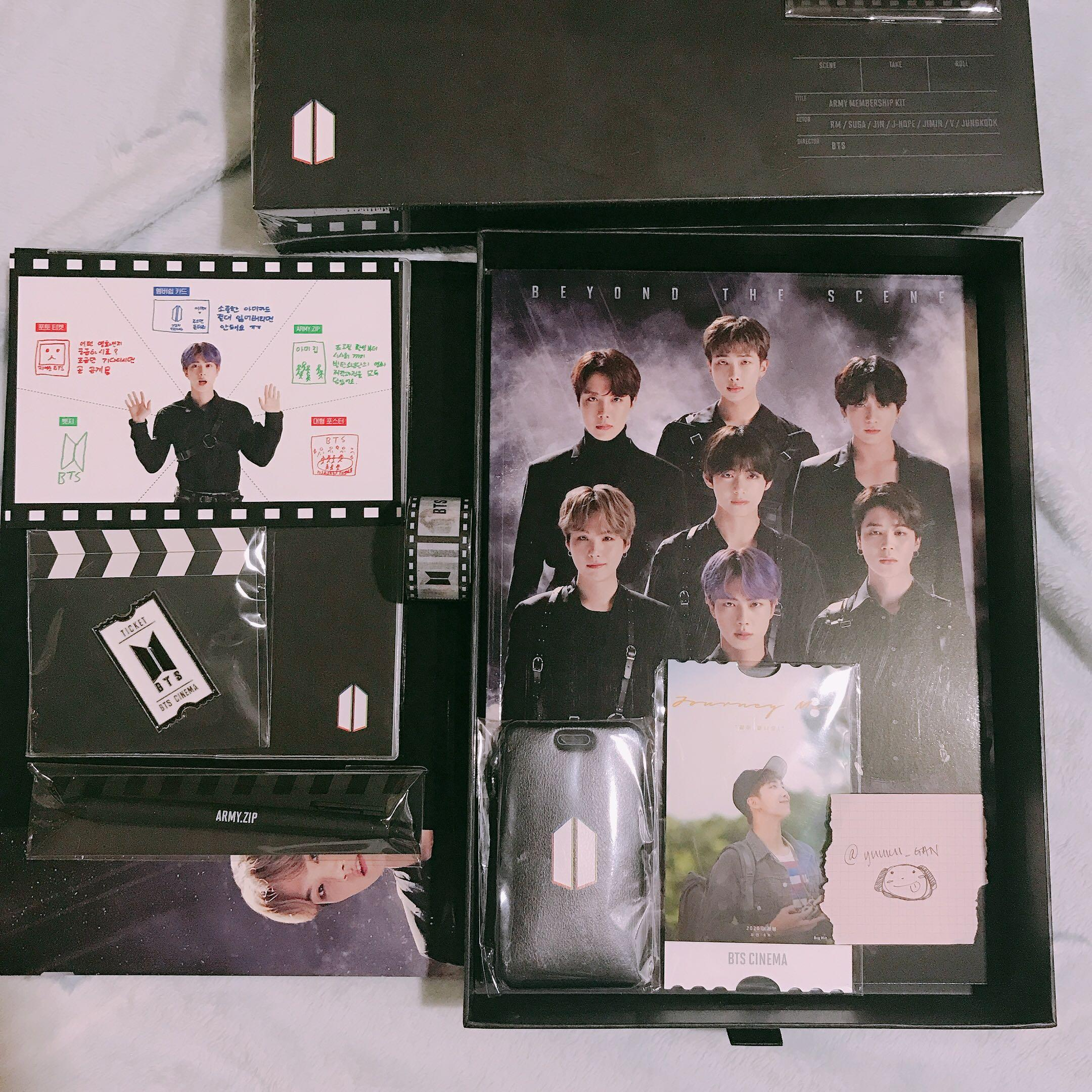 [READYSTOCK] BTS GLOBAL ARMY MEMBERSHIP KIT (loose)
