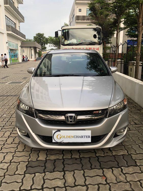 Sporty Honda Stream For Rent! Gojek rebate, personal rental available