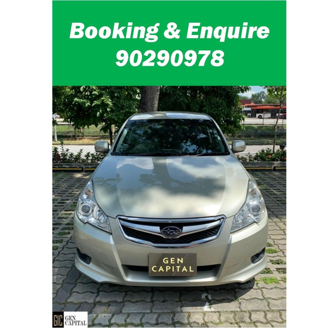 Subaru Legacy - Just down $500 and drive off! Whatsapp @90290978 NOW!!!