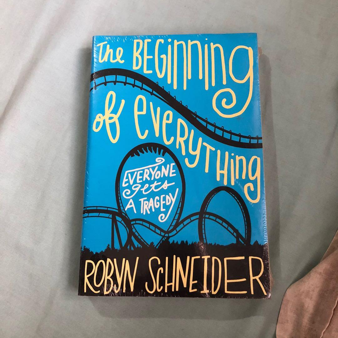The Beginning of Everything book / novel by Robyn Schneider SEALED