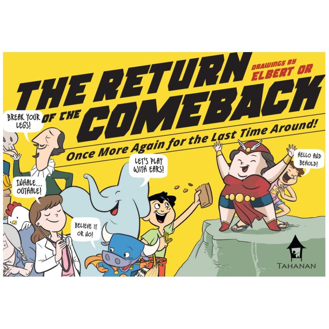 The Return of the Comeback: Once More Again for the Last Time Around! | English | Tahanan Books | Pinoy Pop Culture