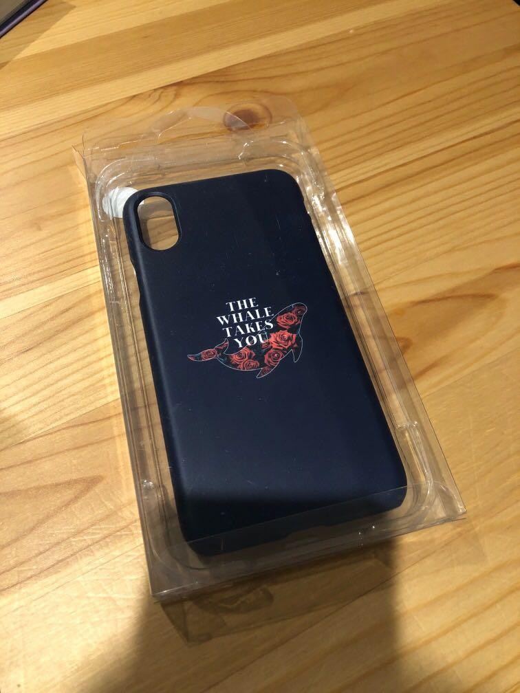 The Whale Takes You iPhone XS Phonecase Monsta X MINHYUK