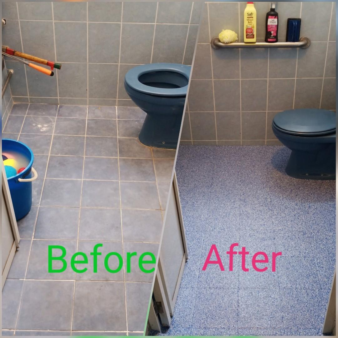 Toilet Anti Slip Coating