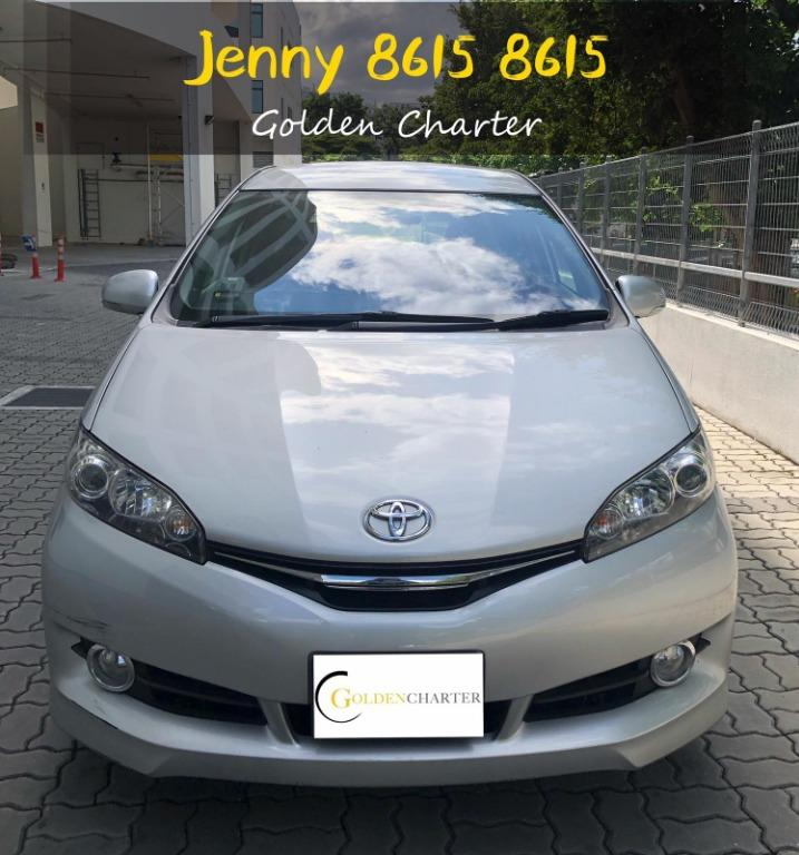Toyota Wish(2015 year)2nd gen new facelift top condition Mpv 7 seater.gojek incentive rebate gran phv personal use