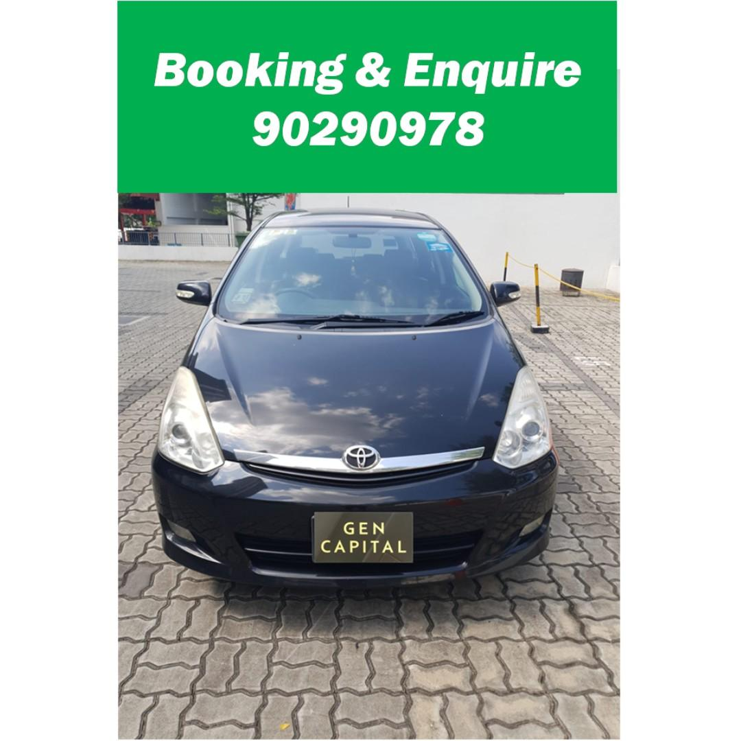 Toyota Wish 1.8A - Just down $500 and drive off! Whatsapp @90290978 NOW!!!