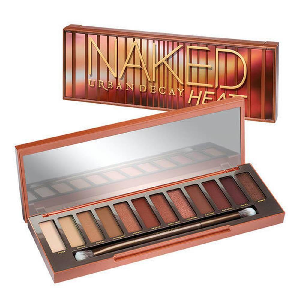 Urban Decay NAKED HEAT Eyeshadow Palette 12 Colors Makeup