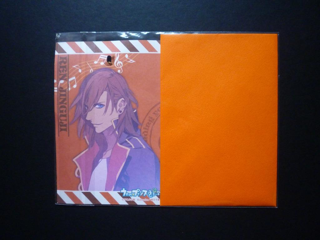 Uta no☆Prince-sama ~ Jinguji Ren ~ Greeting Card with Charm