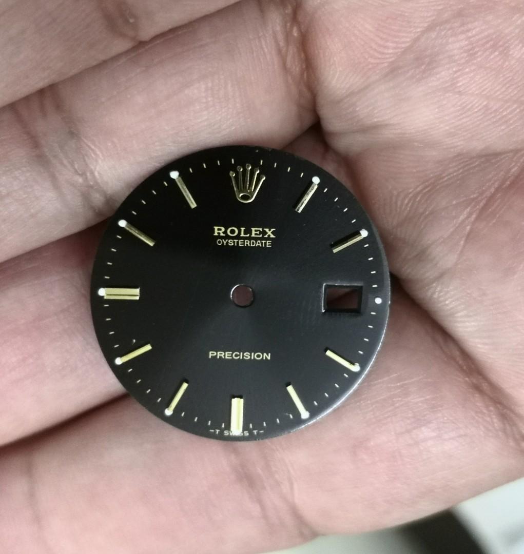 Dial watch spare part rolex precision 6694 original   spare part rantai jam rolex precision 6694 tulin
