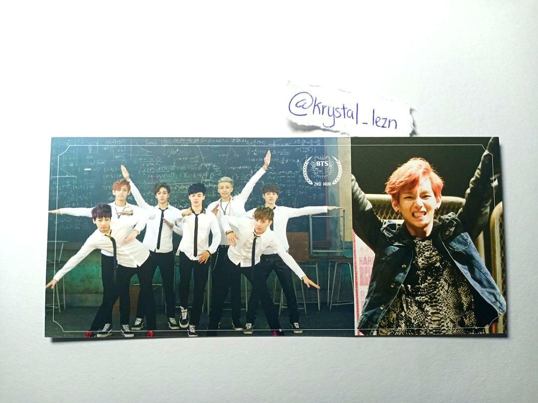 [WTS] BTS Skool Luv Affair Taehyung × group photocard
