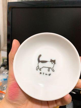 飾品收納 貓咪小碟盤