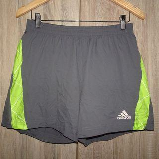(M) Adidas Climacool Supernova sport shorts, may fit mens medium and womens large, super nice comfy fabric, with waist secure lace and zippered key pocket, looks new