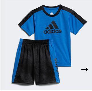 Adidas Shorts Set - Size 12 Months