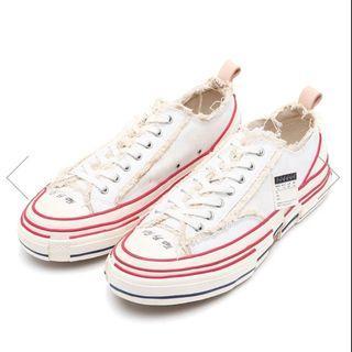 XVESSEL吳建豪解構鞋(白色)全新正版