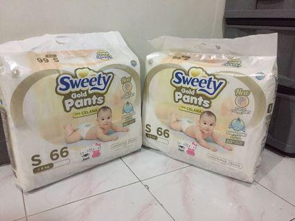 Pampers SWEETY GOLD S 66