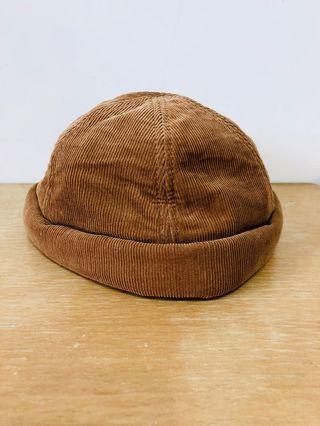 韓製棕色水兵帽