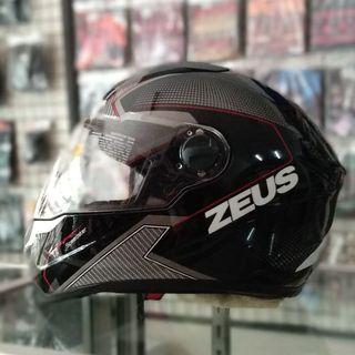 Helm Zeus ZS 811 AL 6 black white