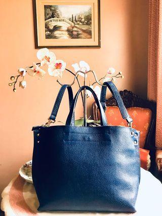 Beyond Best 💯% Genuine Leather 2-way Satchel Bag (Large)