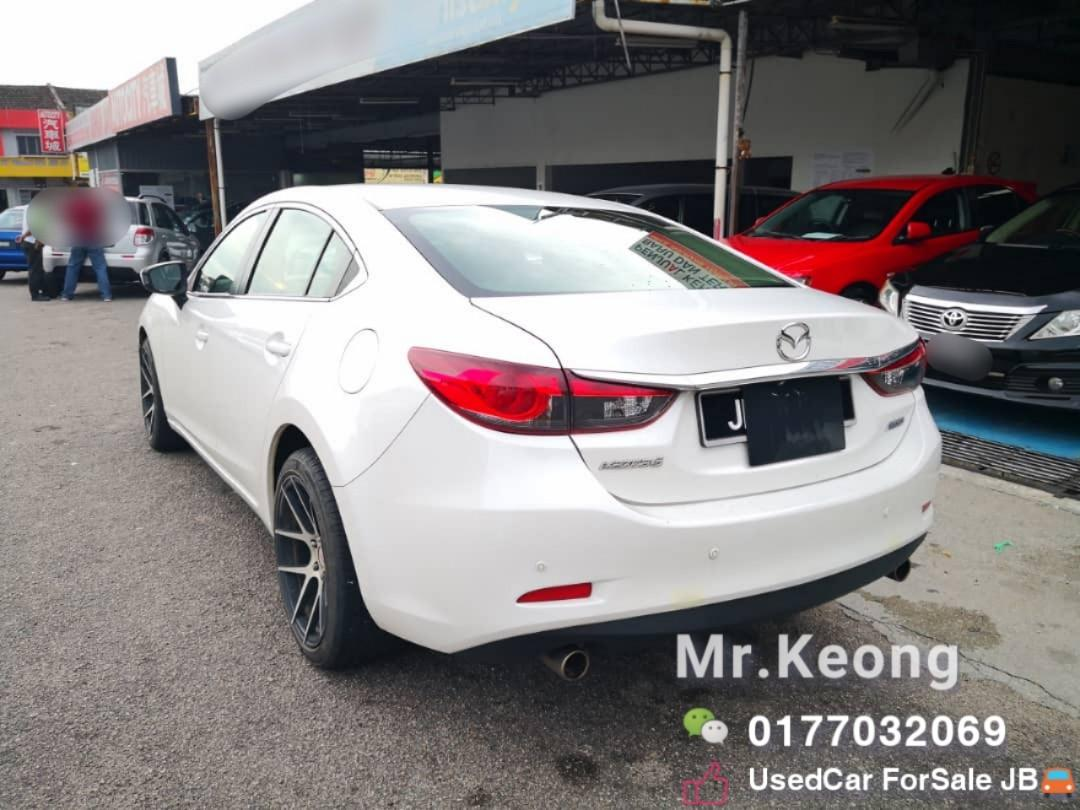 2013TH🚘MAZDA 6 2.0 AUTO SEDAN TipTop/JB Plate Cash💰OfferPrice💲Rm61,800 Only‼LowestPrice InJB🎉Call📲 KeongForMore‼🤗