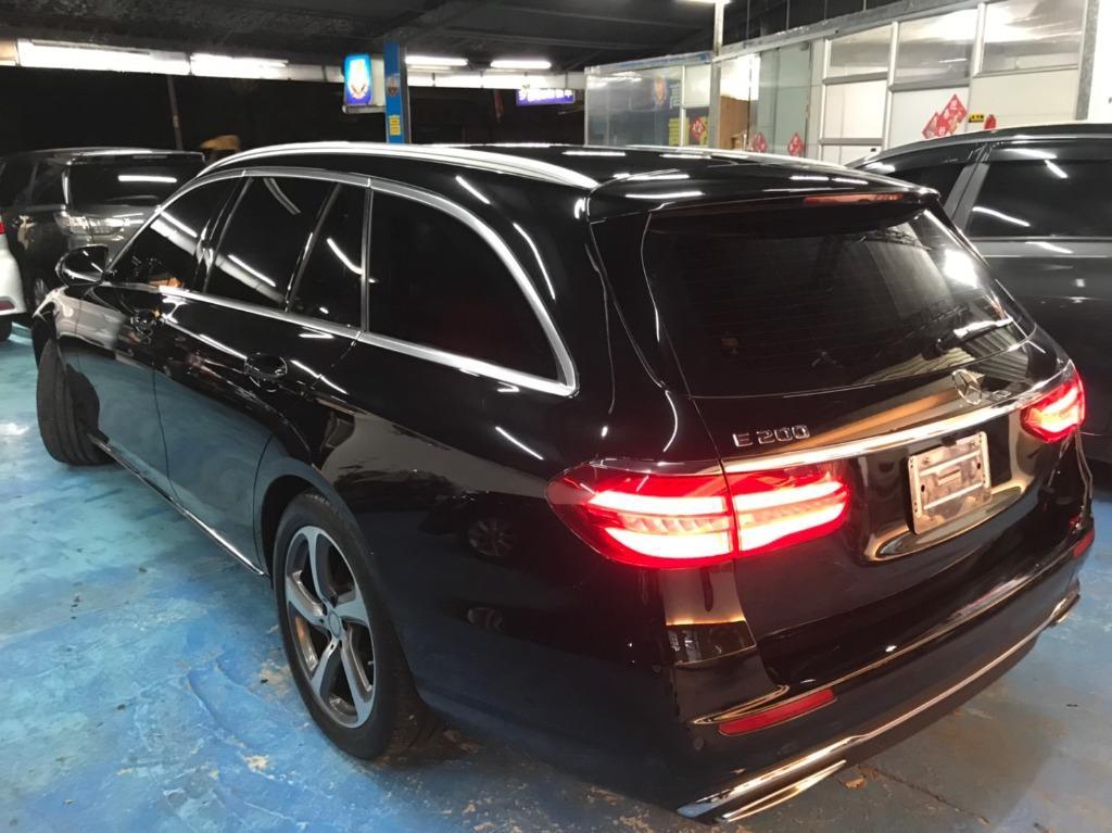 🔥正2017年 Mercedes-Benz/賓士 E200 Estate 2.0五門旅行車!!! 非自售~~