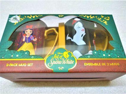迪士尼disney白雪公主馬克杯禮盒