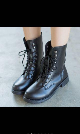 全新 中筒靴